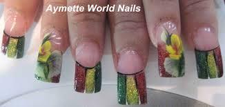 rasta nails nail art archive style nails magazine