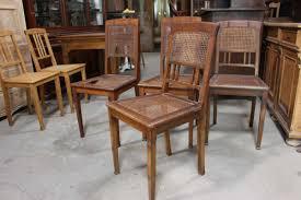 Esszimmerst Le Kirsche 4 Stühle Aus Der Zeit Des Jugendstil 02561