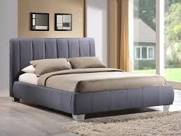 grey bed living braunston double grey fabric bed frame
