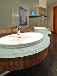 Best Vetrazzo Recycled Glass Countertops Images On Pinterest - Bathroom countertop design