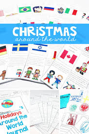 holidays around the world unit and mini books