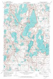 Map Mn Wabana Lake Topographic Map Mn Usgs Topo Quad 47093d5