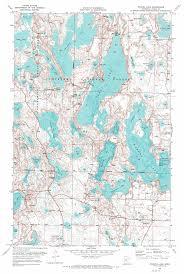 minnesota topographic map wabana lake topographic map mn usgs topo 47093d5