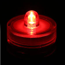 outdoor led tea lights 2pc red submersible battery led tea lights string led lights