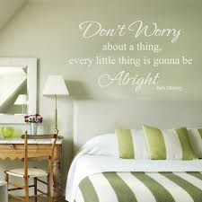 every little thing is gonna be alright bob marley vinyl wall decal every little thing is gonna be alright bob marley vinyl wall decal sticker art black small amazon co uk kitchen home