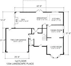 floor plans with measurements simple house plans with measurements rotunda info