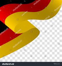 vector illustration waving german waving flag stock vector