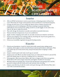 fall home maintenance checklist austin texas home sale