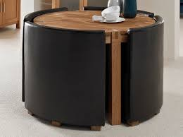 small round table with 4 chairs remarkable space saver dining room sets stokesay small round dining