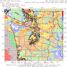 Seattle Weather Map by Cliff Mass Weather And Climate Blog A Beautiful Storm