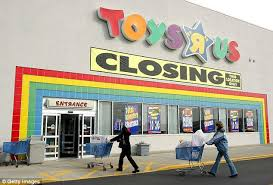 toys r us files for bankruptcy daily mail