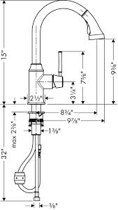 Hansgrohe Talis C Bar Faucet Hansgrohe Kitchen Faucets Talis C Talis C 2 Spray Higharc