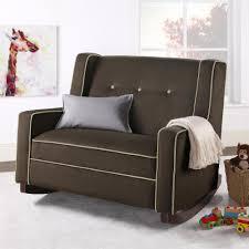 Fabric Rocking Chair For Nursery by Ashwick Linen Swivel Glider Recliner The Land Of Nod Nursery