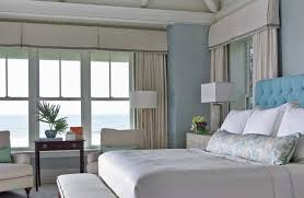 curtains for master bedroom master bedroom window beach style with bench traditional curtains