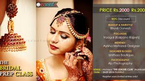 bridal makeup classes the complete prep classes for brides to be in chennai