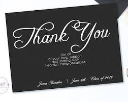 thank you graduation cards graduation cards set of 10 graduation thank you cards