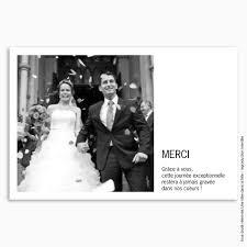 remerciement mariage photo remerciements mariage classique 1 photo justifiée