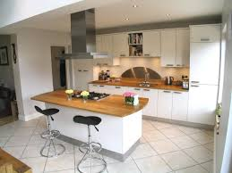 Ideas For Kitchen Worktops White Kitchen With Oak Worktop Do You Think It Looks Better With