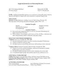 sample resume with internship experience statistics major resume resume for your job application 89 stunning resumes that work examples of