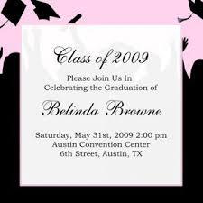 graduation announcement exles exles of graduation invitations exles of graduation