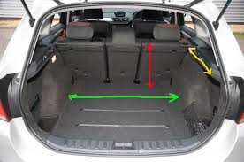 bmw x1 storage capacity boot dimensions