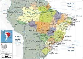 map of brazil geoatlas countries brazil map city illustrator fully