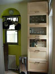 Freestanding Kitchen Furniture Freestanding Kitchen Storage From Wall Cabinets Ikea Hackers