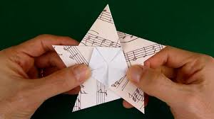 folding a 5 pointed origami star youtube