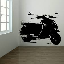 popular giant wall murals buy cheap giant wall murals lots from mod mods scooter large kitchen bedroom wall mural giant art sticker vinyl 4 sizes china