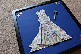 wedding gift money amount wedding dollar bill origami comot