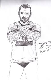 wwe cm punk coloring pages sketch template throughout cm punk