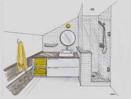 design bathroom floor plan in sketch or 3d home design ideas
