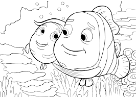 finding nemo clip art with finding nemo coloring pages arterey info