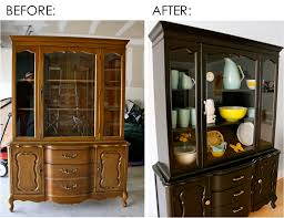 Display Dishes In China Cabinet The New Chair The China Cabinet Redo U2013 Made Everyday