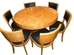 dining room art art deco round mid century dining table and chairs dining room