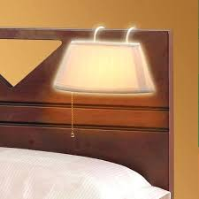 clip on reading light for bed headboard l over the headboard hanging bed reading l bed light
