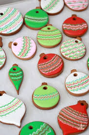 marbled ornament cookies sweetopia decorated cookie
