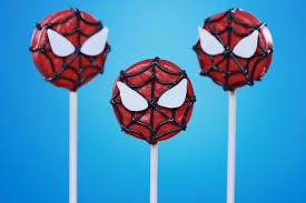 how to make spiderman cookie pops rosanna pansino