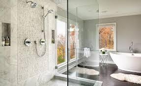 master bath showers master bth with freestanding shower transitional bathroom