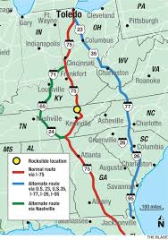 Daytona State College Map by Spring Break Travel Being Lengthened By Tennessee Rockslide The