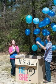 balloons in a box gender reveal had our gender reveal party today it s a babycenter