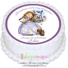 sofia the cake topper princess sofia the edible icing cake topper