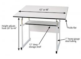Drafting Table Dimensions Workmaster Drafting And Drawing Tables Jerry S Artarama