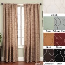 Overstock Curtains Decorating Wonderful White Overstock Curtains With Side Table And