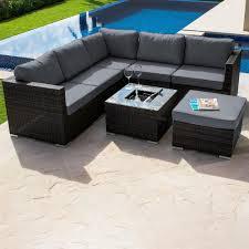 corner sofa maze rattan outdoor corner sofa set gardener