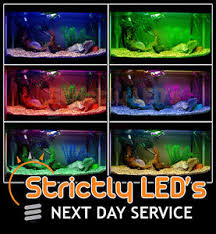 color changing led fish tank lights aluminium strip colour changing led aquarium fish tank lights