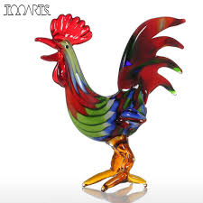 Gift Craft Home Decor by Online Get Cheap Glass Rooster Aliexpress Com Alibaba Group