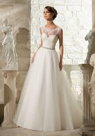 Mori Lee Wedding Dresses Venice Lace Appliques On Soft Tulle Morilee Bridal Wedding Dress