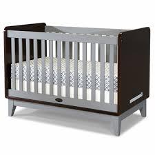 Zutano Crib Bedding Zutano Tivoli Convertible Crib In Espresso Cloud Free Shipping