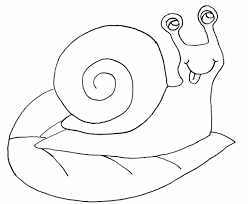 snail coloring pages for kids to print coloring pages kids